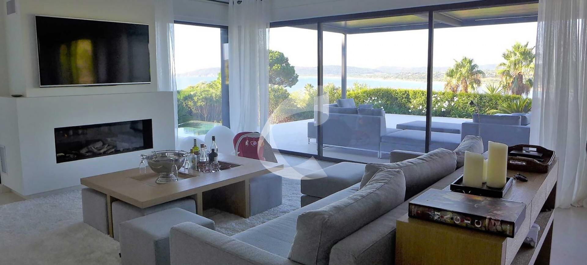 Villa rental Saint-Tropez Cap DAzur