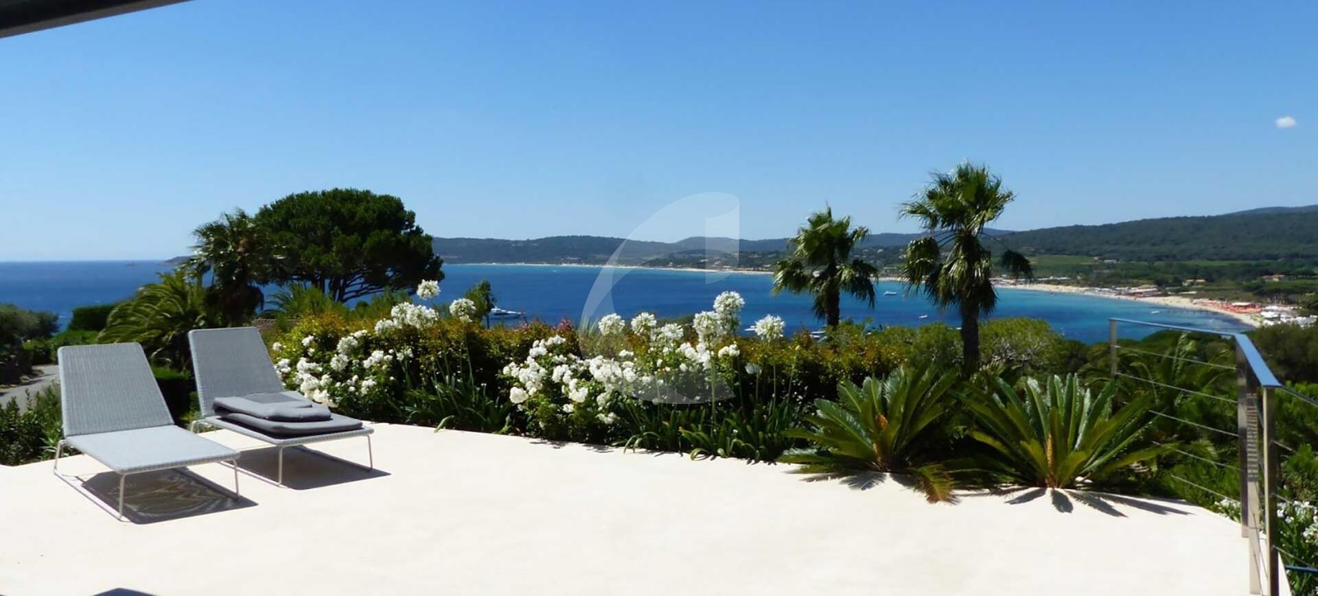 Villa rental Saint-Tropez Cap D'Azur