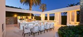 La Ciel Bleu Luxury Villa Pool Saint Tropez Dinner Outdoor Kitchen 3