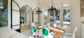La Ciel Bleu Luxury Villa Saint Tropez extra dining room