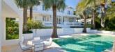 La Ciel Bleu luxury villa saint tropez pool side view