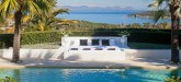 La Ciel Bleu Luxury Villa Saint Tropez pool view