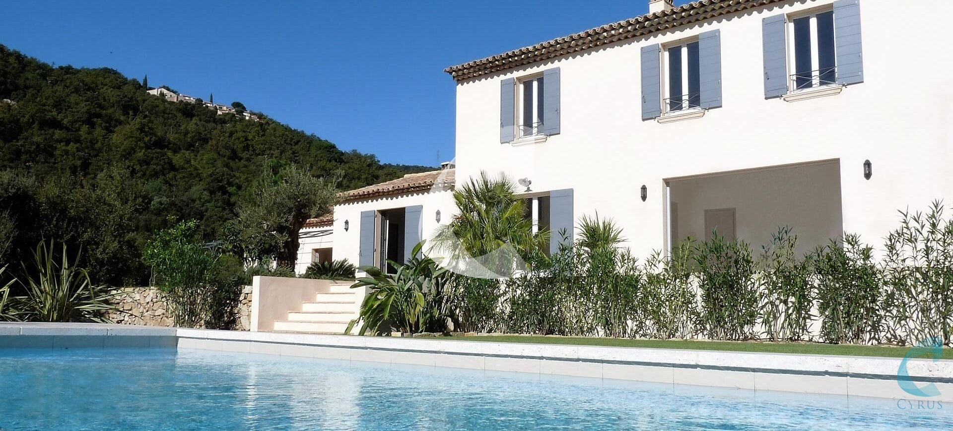 Hotel Saint-Tropez pool