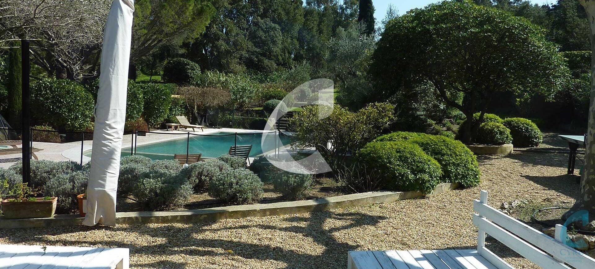 Saint Tropez Beautyfull Villa rental garden