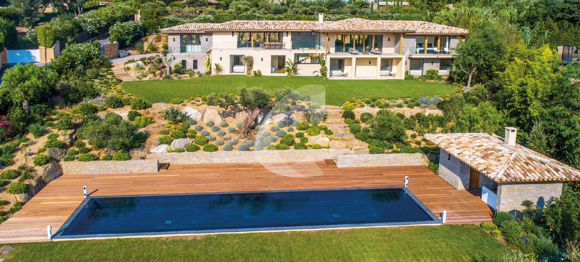 St Tropez rent villa beautiful view