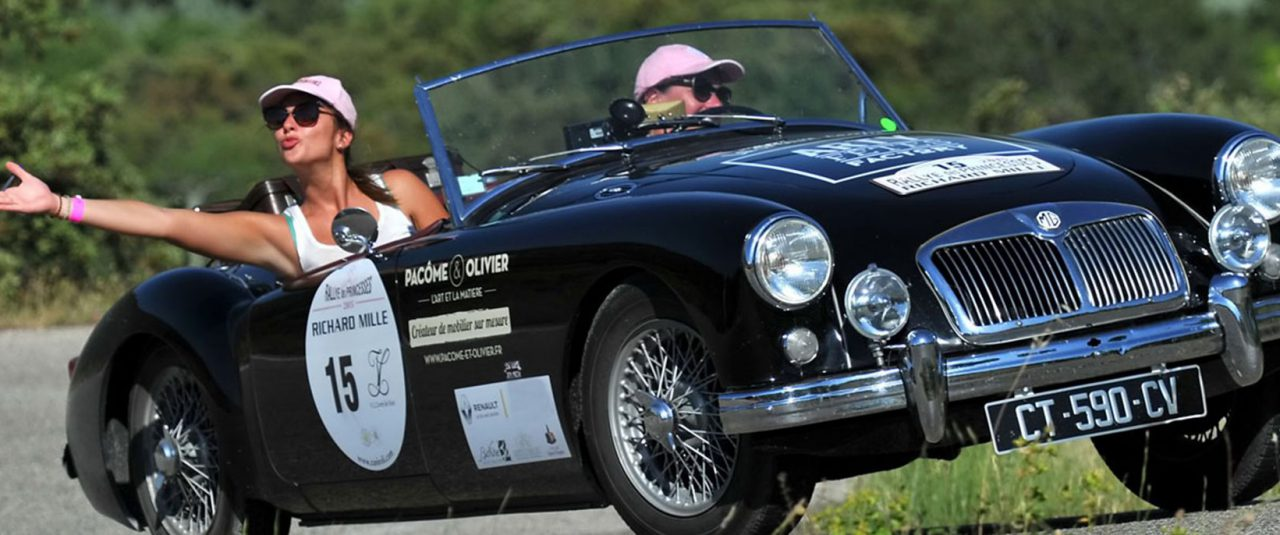 Admire and experience the Ladies Car Rally