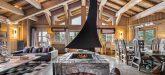 Chalet Nogentil Everest Fireplace